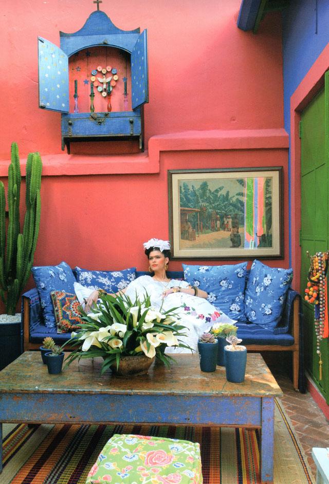 Cores de frida kahlo cores maria mole - Estilo frida kahlo ...